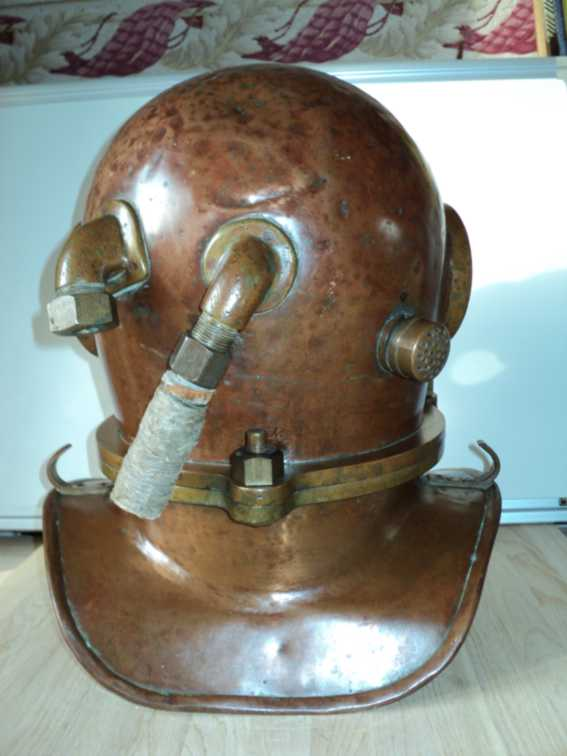 Antiques Marine Com Diving Original Russian 3 Bolt